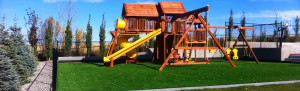 playground and articial turf